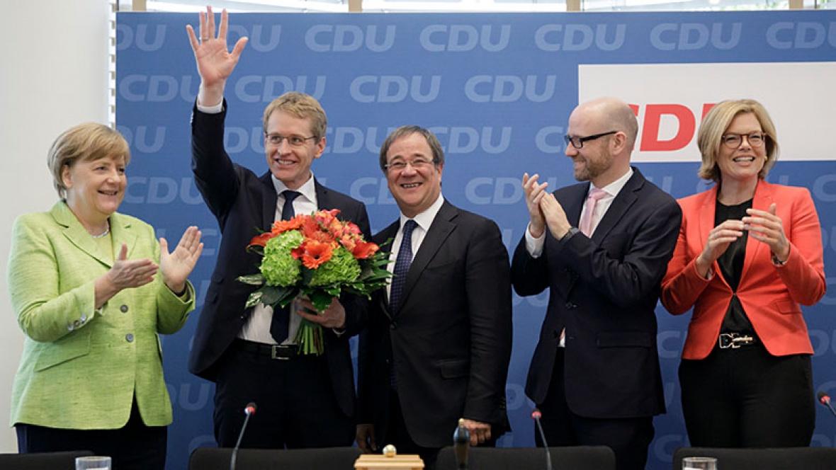 Glückwünsche für Daniel Günther
