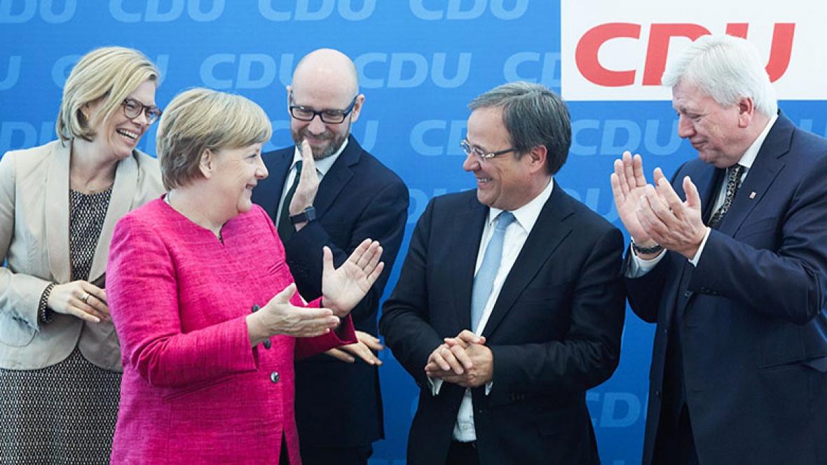 Der Bundesvorstand gratuliert Armin Laschet