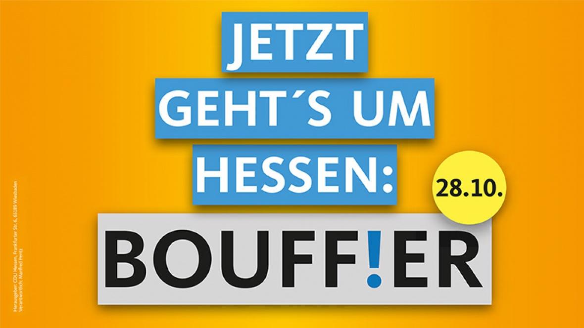 Jetzt geht´s um Hessen: Bouffier