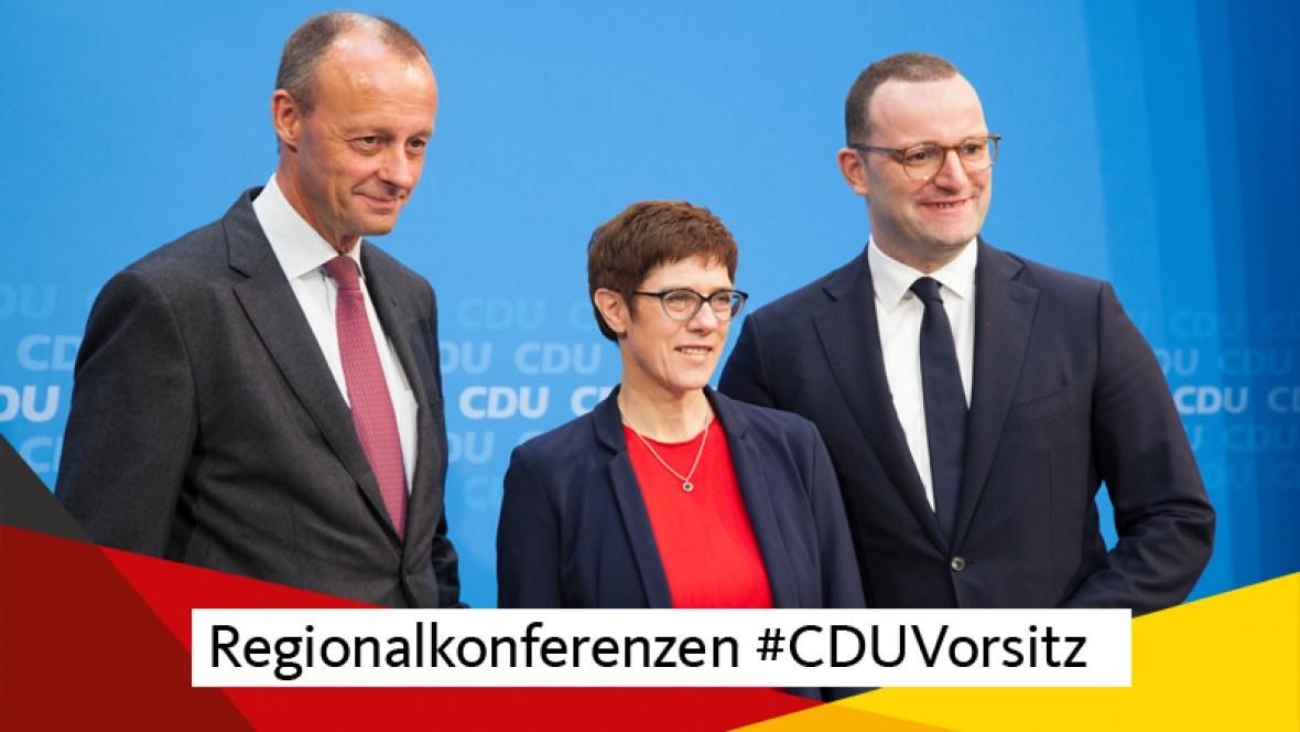 Regionalkonferenzen #CDUVorsitz