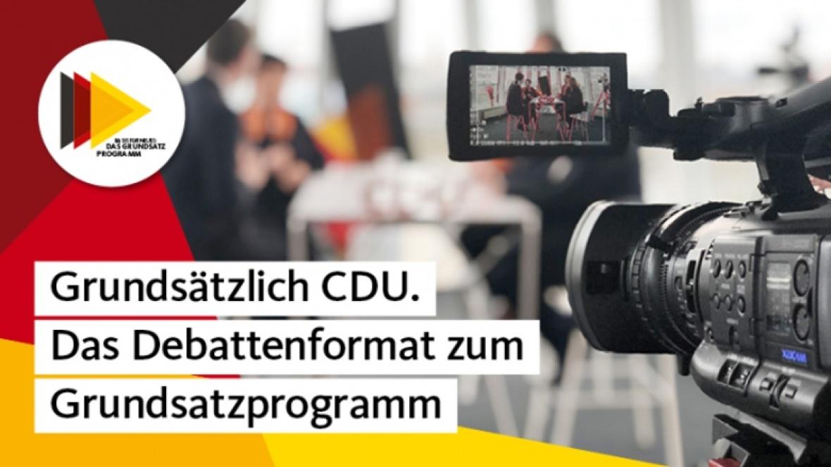 Grundsätzlich CDU: Neues Debattenformat zum Grundsatzprogramm