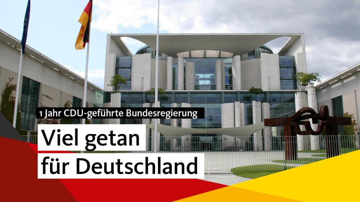 Viel getan für Deutschland
