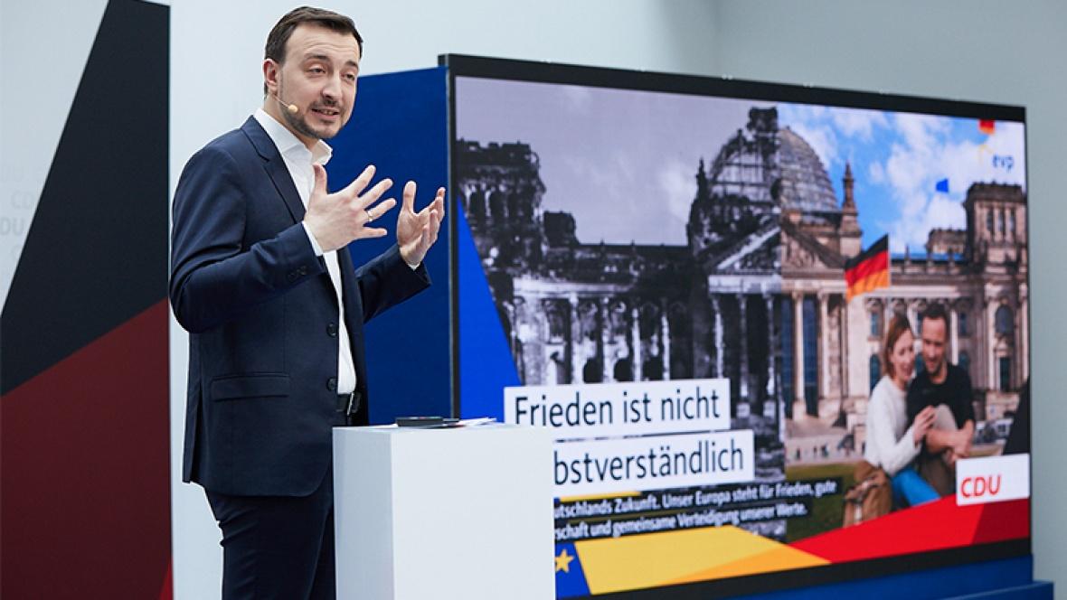 Vorstellung der ersten Plakate zur Europawahl 2019
