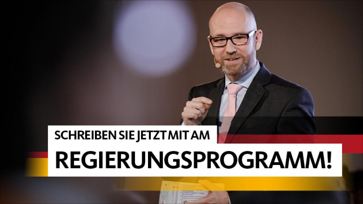 CDU lädt Bürger zur Mitarbeit am Regierungsprogramm ein