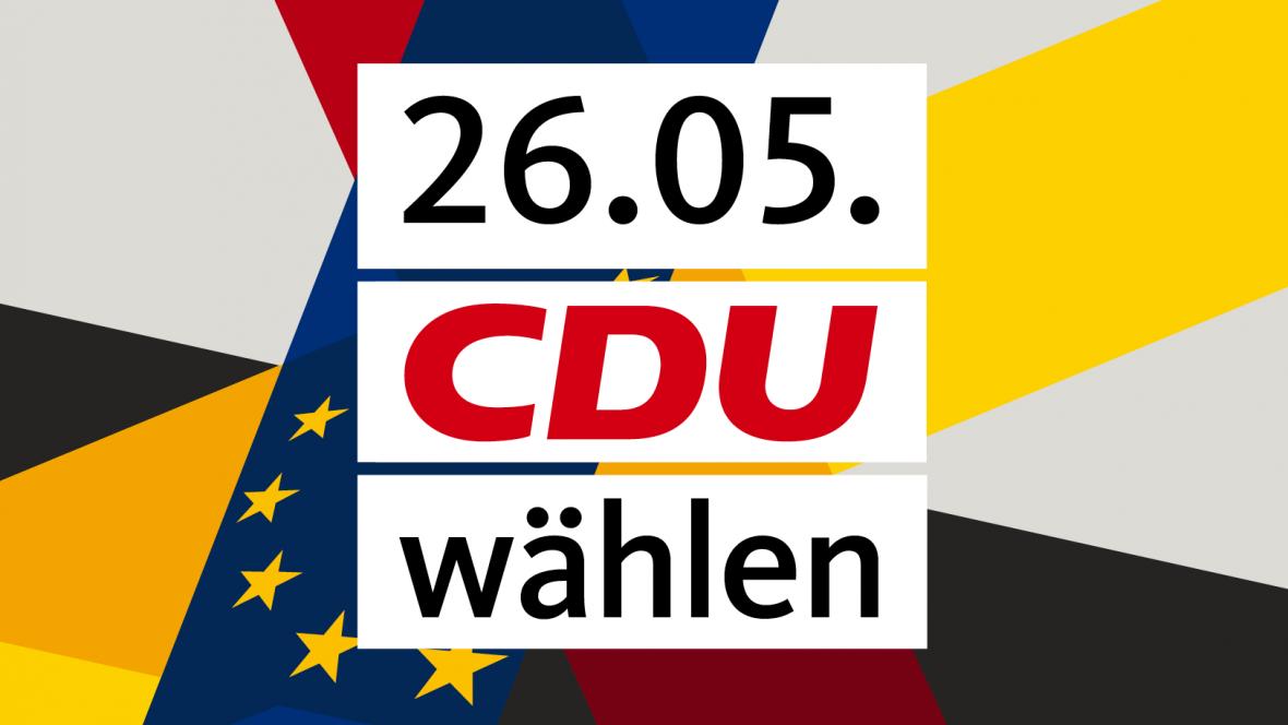 26.05. CDU wählen